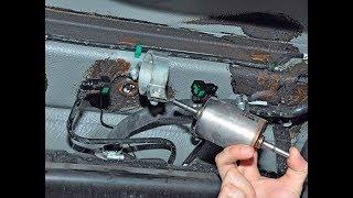 замена топливного фильтра лада приора