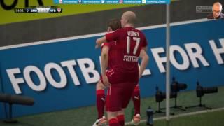 Borussia Mgladbach 2:0 VfB Stuttgart |LIVESTREAM| DFB Pokal 2. Runde 25.10.2016 Lets Play FIFA 17