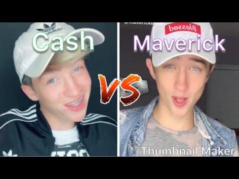 Cash Vs Maverick Baker TikTok Compilation Part 3