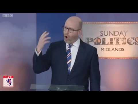UKIP Leader Paul Nuttall Debates The Other Candidates On Stoke By Election