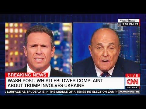 Kooky Giuliani Denies, IMMEDIATELY Admits Asking Ukraine for Biden Smear