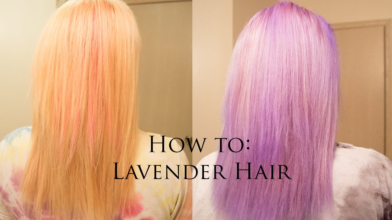 How To Lavender Lilac Hair Manic Panic Ultra Violet
