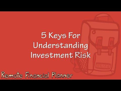 5 Keys to Understanding Investment Risk