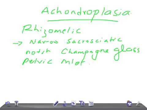 QUICK RADIOLOGY: Radiologic signs of ACHONDROPLASIA