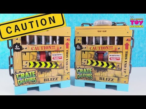 Crate Creatures Blizz Free The Beast Plush Talking Toy Review | PSToyReviews