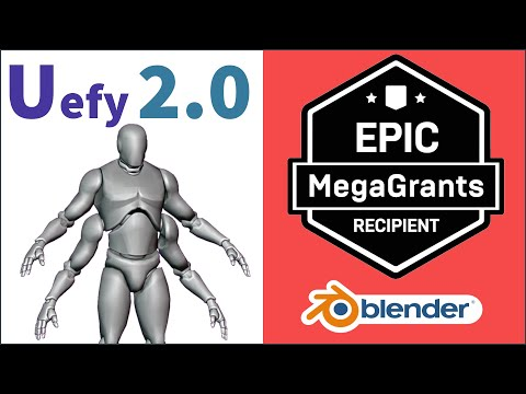 Create Epic Skeleton compatible animation rigs in Blender for Unreal Engine 4