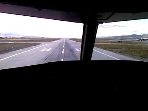 A320 cockpit landing - Erzurum (Turkey) Procedural ILS 26R - MDA 5,970ft (PART 2)