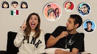 ADIVINA EL YOUTUBER CON EMOJIS | Lyna Vlogs