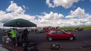 Untuned J32 eg hatch vs H22 eg hatch (camera car)