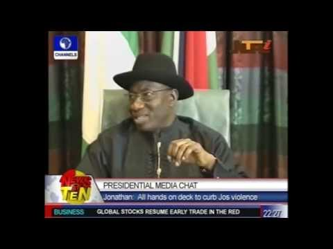 Pres'l Media Chat:Jonathan Speaks On National Issues.flv