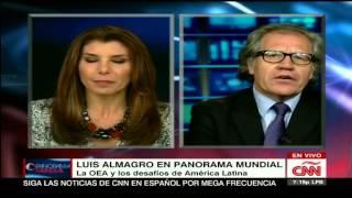 """Luis Almagro  """"una isla , un pais"""" entrevista completa RD Haiti 17-7-2015"""