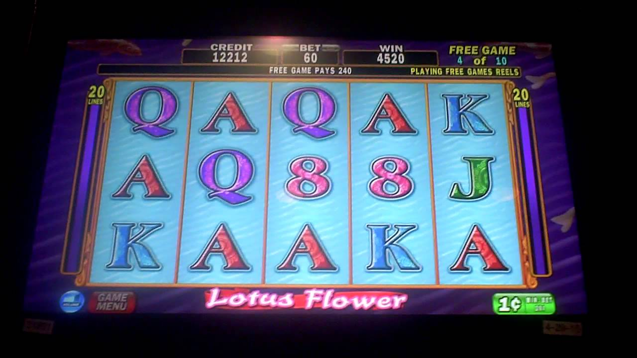 Lotus Flower Slot Machine Download