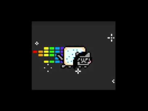 10 Hours of Nyan Cat Dub step !