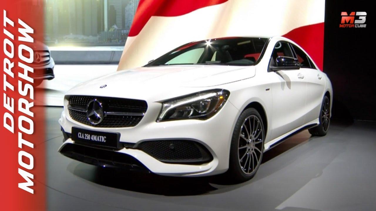 Naias Detroit Auto Show 2017 New Mercedes Cla 2017 Dietmar