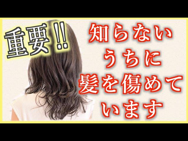 【お願い】髪を乾かす理由を説明。一度は聞いてください!これを知って毎日素敵な髪にしましょう♪