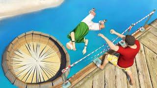 GTA 5 Epic ragdolls episode 105 [Funny Moments]