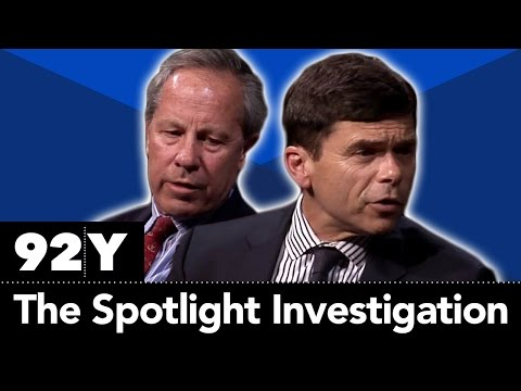 Spotlight: Boston Globe's Michael Rezendes and Ben Bradlee J