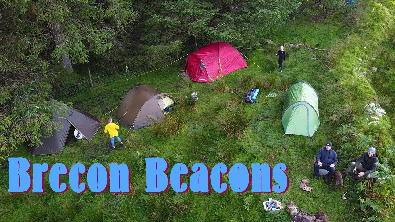 Wild Camping in Brecon Beacons National Park, UK - YouTube