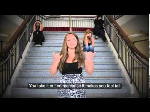 """Hey Bully"" Morgan Frazier (ASL Version) w/lyrics"
