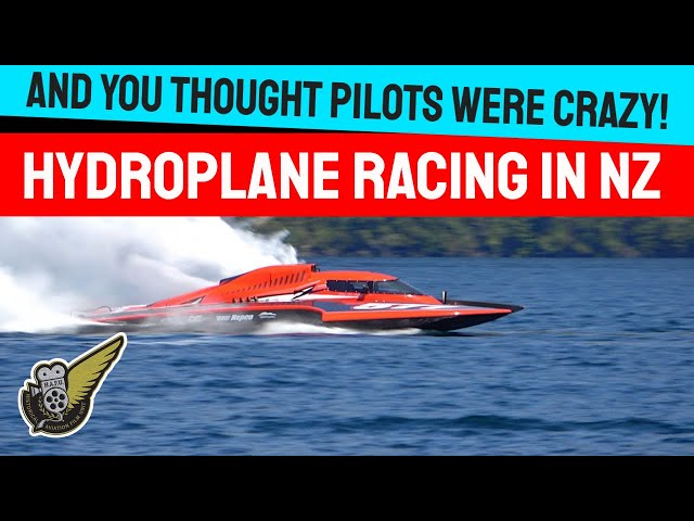 Awesome Hydroplane Racing On Scenic Alpine Lake