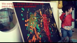 Blossom Burj Baby Art - Jackson Pollock