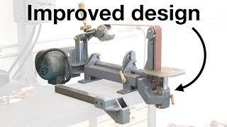 Improved table holder for belt grinder