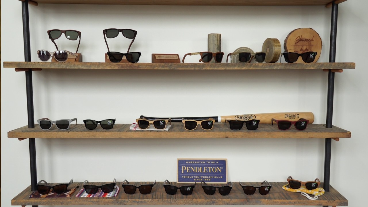 a72e84fc6f See How Wood Sunglasses Are Made At Shwood Eyewear - YouTube