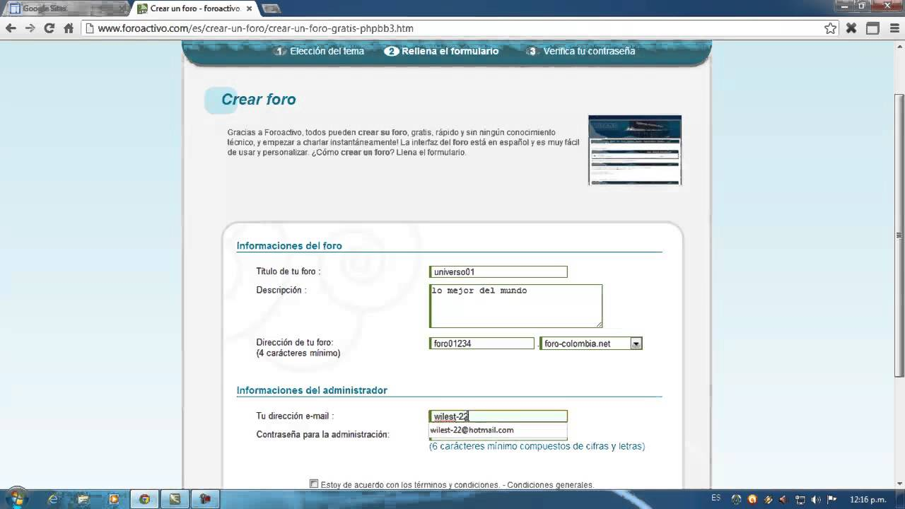Como Insertar Un Foro En Google Sites Youtube