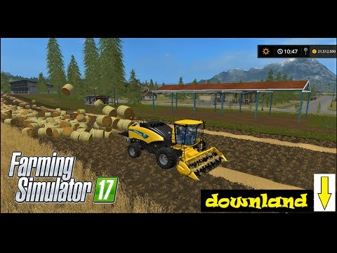 Farming Simulator 17 | VERY ROUND BALING  w/ NEW HOLLAND POWER BALER