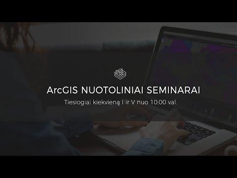 Įvadas į 3D su ArcGIS Pro