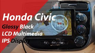 Honda Civic Android LCD IPS Multimedia Navigation System | Best Gadgets | Best Car Accessories Store