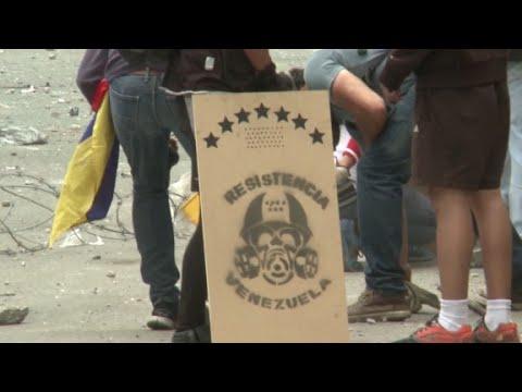 The frontline of Venezuela's protest movement