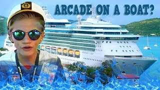 Destroying Arcade Games On A Huge CRUISE Around Europe !