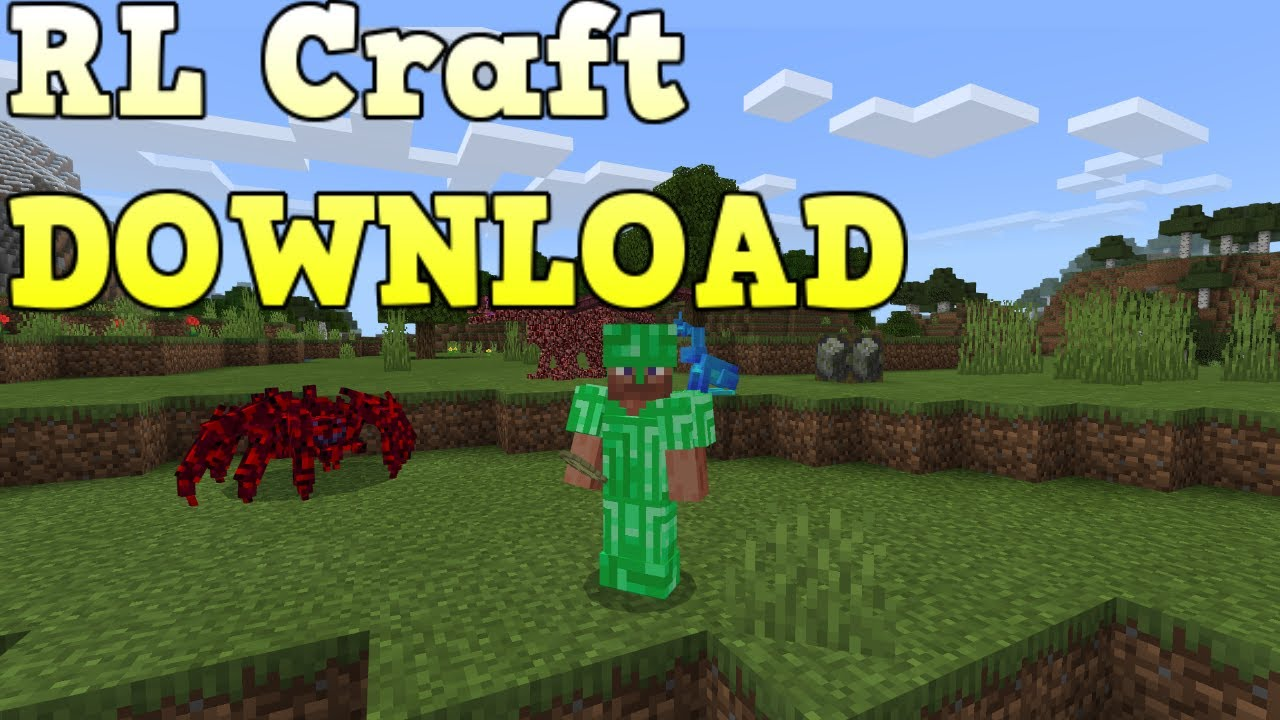 Rlcraft Modpack On Minecraft Bedrock Edition Download Youtube