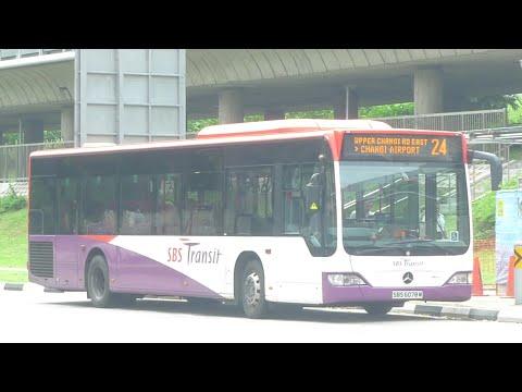 SBS Transit Bus Service 24, SBS6078M (Full Trip)