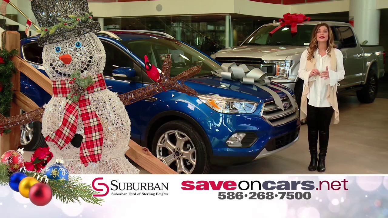 Holiday Savings Event At Suburban Ford Of Sterling Heights Youtube