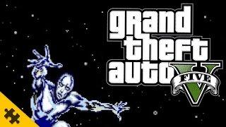 GTA 5 СЕРЕБРЯНЫЙ СЕРФЕР сломал мне ВСЮ ИГРУ! Моды ГТА 5 (GTA 5 MODS)