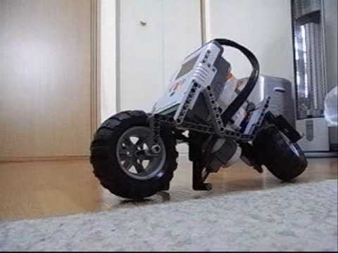 Lego mindstorms NXT Motorcycle Detail - YouTube