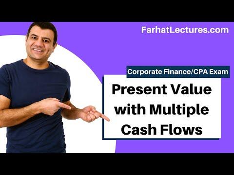 Present value of multiple cash flows corporate finance ch 6 p 2