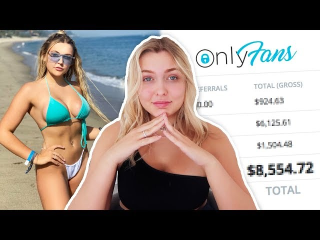 I Sold My Bikini Pictures For A Month And Made £___