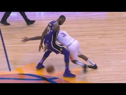 LeBron Crosses Ariza Self Oop! Lonzo Off Glass Alley Oop! 2018-19 NBA Season