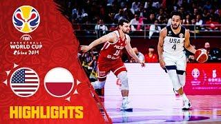 USA v Poland - Highlights - FIBA Basketball World Cup 2019