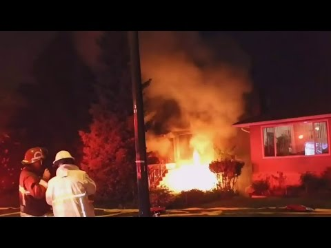 B.C. man hailed as a hero for rescuing neighbour from fire