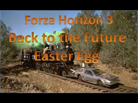 Forza Horizon 3 Back to the Future Train Easter Egg thumbnail