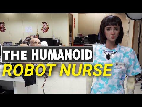 Meet Grace, the healthcare robot COVID-19 created | Celebrity Humanoid Robot Sophia | Robot Nurse