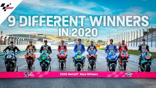 9 Different MotoGP Winners in 2020!
