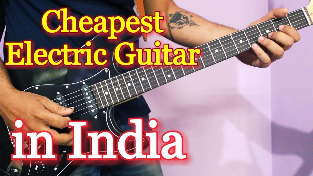 cheapest electric guitar in india juarez electric guitar review unboxing youtube. Black Bedroom Furniture Sets. Home Design Ideas