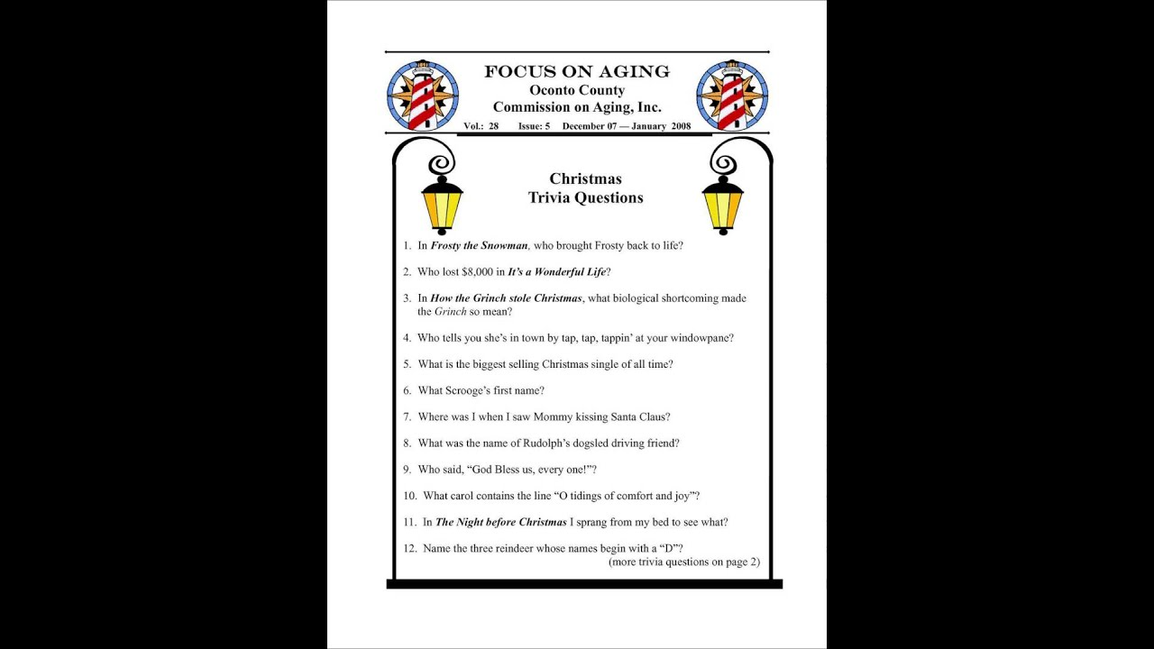 christmas trivia questions bible youtube
