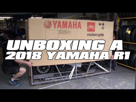 download Unboxing a 2018 Yamaha R1 - NEW PROJECT!