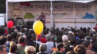 """Blockupy-Kundgebung (2015) Urban Priol über die EZB, die Troika & """"Stalins Faust"""" (7/8)"""
